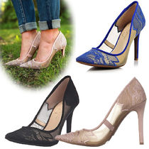 Jessica Simpson Pin Heels Elegant Style Pointed Toe Pumps & Mules