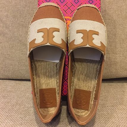 Tory Burch Platform Casual Style Espadrille Shoes