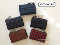 Coach Leather Keychains & Holders