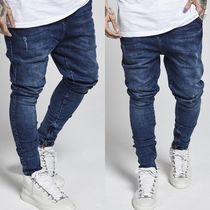 SikSilk Street Style Cotton Joggers Jeans & Denim
