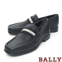 BALLY Loafers Plain Leather U Tips Loafers & Slip-ons