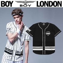 BOY LONDON Star Street Style Other Animal Patterns Medium Short Sleeves