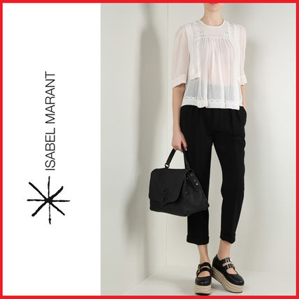 17th SS ISABEL MARANT Mara silk blouse