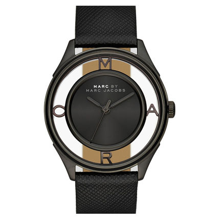 Marc Jacobs Women ' s watches Tissar Leather MBM 1379