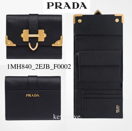 Gold Hardware Points bifold wallet 1MH8402ejb