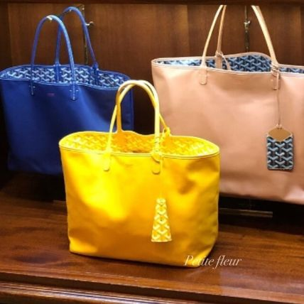 16a29a8a517 ... GOYARD Totes Monogram Casual Style Canvas Street Style 2WAY Plain Totes  ...