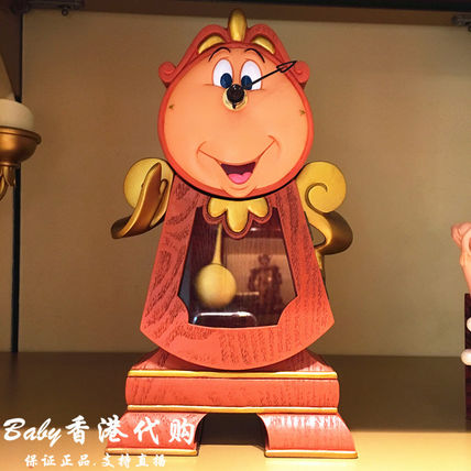 Hong Kong Beauty and the Beast Cogsworth Watches WDW