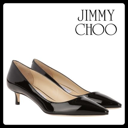 Jimmy Choo after all this Romy Kittenheel black