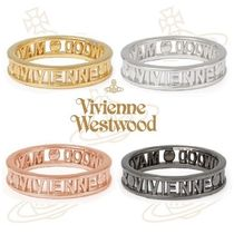 Vivienne Westwood Casual Style Unisex Silver Rings