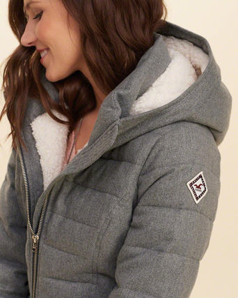 Hollister Co. Down Jackets