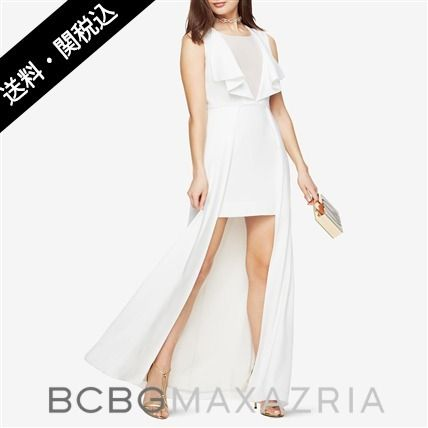 BCBG shipping Tanika by the High-Low Gown dress up