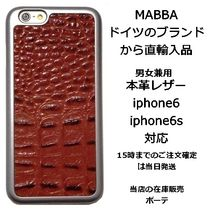 mabba Unisex Leather Smart Phone Cases