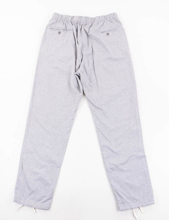 Engineered Garments Paisley Plain Cotton Joggers & Sweatpants