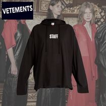 VETEMENTS Short Collaboration Long Sleeves Cotton Cropped