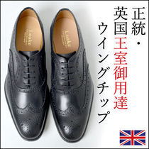 Loake Wing Tip Leather Oxfords