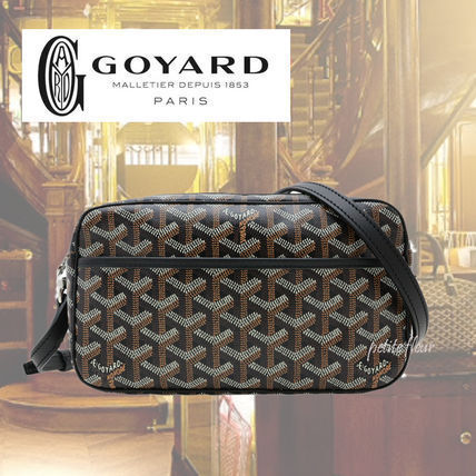 GOYARD Cup Vert shoulder bag / black