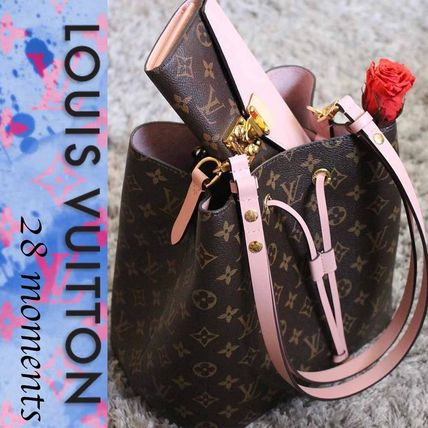 Louis Vuitton MONOGRAM Monoglam Purses Shoulder Bags