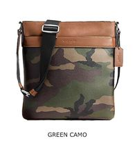 Coach Camouflage Leather Shoulder Bags