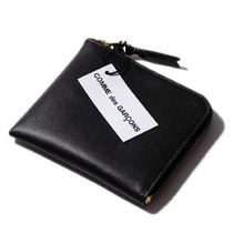 COMME des GARCONS Plain Leather Coin Cases