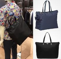 PRADA Nylon Street Style 2WAY Plain Totes