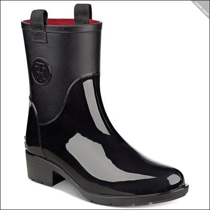 Tommy Hilfiger Round Toe Rain Boots Boots