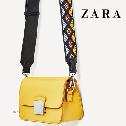 CROSS BODY BAG WITH MULTICOLOURED STRAP