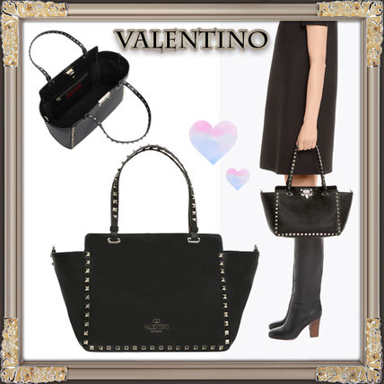 17FW rock studded Small tote