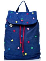 LAZY OAF Dots Canvas Street Style Party Style Backpacks