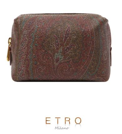Peace of mind ETRO 17 SS Paisley pattern mini Pouch