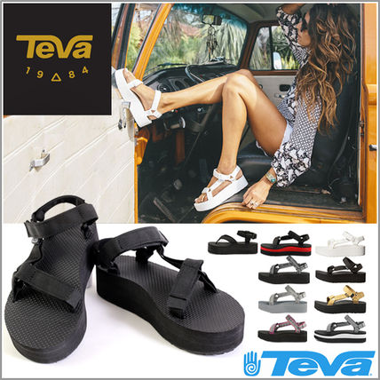 Teba sandals Womens thick bottom