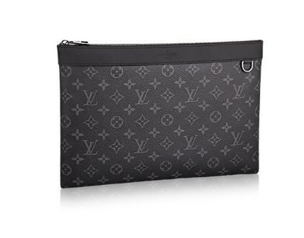 Louis Vuitton Monogram A4 Clutches