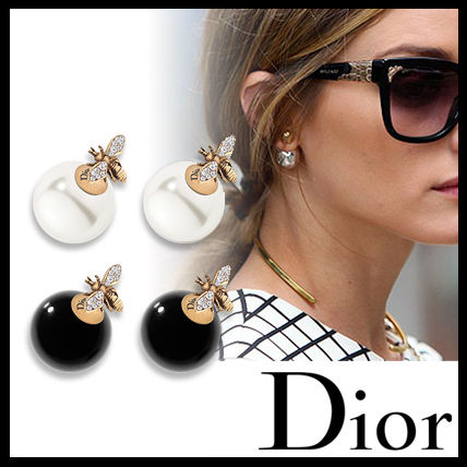 Dior 2017 DIOR TRIBALES cultured pearls earrings