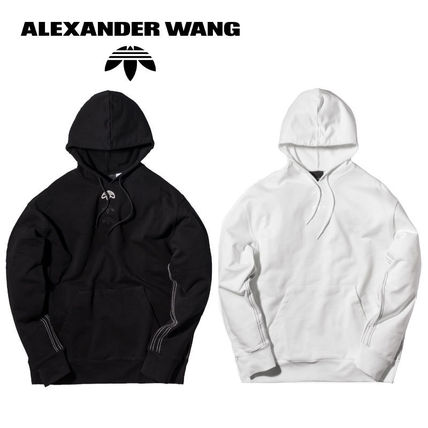 Alexander Wang Pullovers Street Style Collaboration Long Sleeves Plain