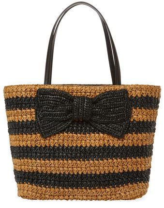 Spring :: Summer Recommenditate Spade Big Ribbon Basket Bag