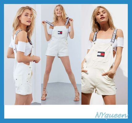 TOMMY JEANS 90 Overall White