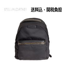 Stella McCartney FALABELLA Nylon Plain Backpacks
