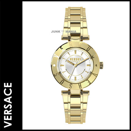 3-7 days arrival / and VERSUS VERSACE Logo Watch