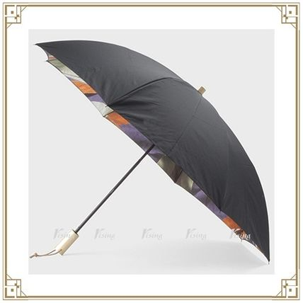 Union Jack Coffee large folding umbrella