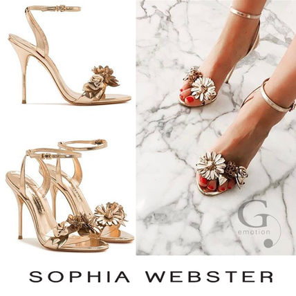 Pumping and SOPHIA WEBSTER Lilico high heel Sandals gold
