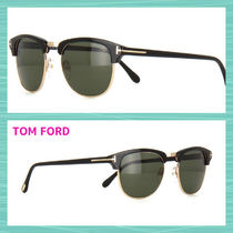 TOM FORD Combination Frame Sunglasses
