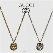 GUCCI Unisex Other Animal Patterns Metal Necklaces & Chokers