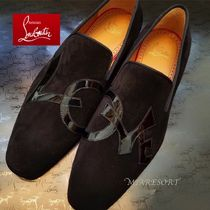 Christian Louboutin DANDELION Suede Oxfords