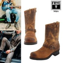 FRYE Leather Engineer Boots