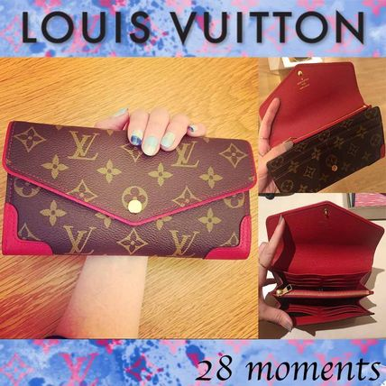 Louis Vuitton MONOGRAM Monoglam Long Wallets