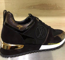 Louis Vuitton MONOGRAM Casual Style Unisex Plain Leather Low-Top Sneakers