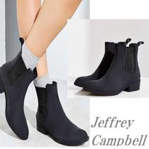 Jeffrey Campbell Casual Style Plain Block Heels Rain Boots Boots