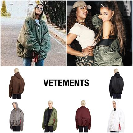 VETEMENTS Unisex Collaboration Bomber Jackets