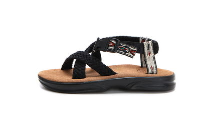 Rubber Sole Casual Style Street Style Leather Flip Flops
