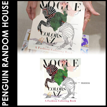 3-7 days arrival / and Penguin. Coloring book Vogue Colors
