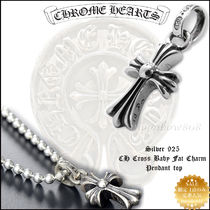 CHROME HEARTS Unisex Silver Necklaces & Chokers